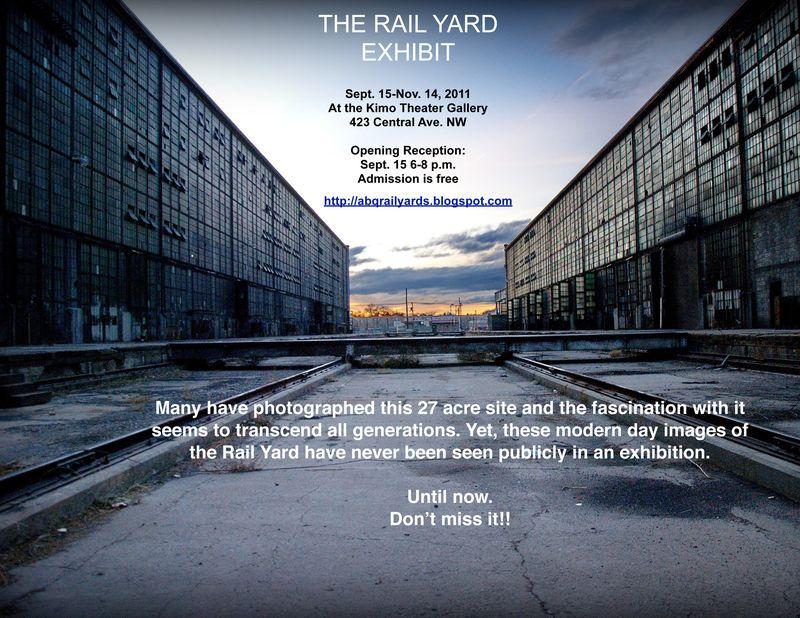 Rail Yards Post Card